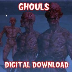 "GHOULS DIGITAL DOWNLOAD - ""IN HIGH DEFINITION""    Ghouls will convince people that there are ghoul's walking around in your home, they are bloddy sand so realistic looking, another amazing Halloween Projection Effect that your trick-or-treaters and guests will love.    We include a Vertical Framed Scene which will allow you to Double the Brightness and Resolution of an image, on a Tall thin Window by turning your WideScreen Projector, 90 degrees on it's side.    THIS DIGITAL DOWNLOAD IS…"