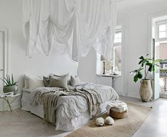 〚 Bright apartment in Sweden with relaxing atmosphere sqm) 〛 ◾ Photos ◾Ideas◾ Design Decor, Interior Design, Interior Renovation, Interior Remodel, Home, Interior, Bedroom Inspirations, Bright Apartment, Home Decor