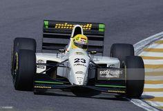 Christian Fittipaldi drives the #23 Minardi Team Minardi M193 Ford HB 3.5 V8…