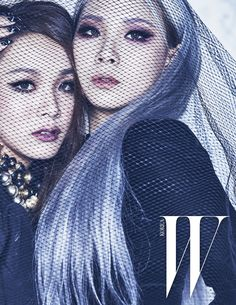 CL & Harin - W Korea Magazine December Issue '15