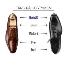 4b9f3b63f07f färg på skor till kostym blå svart grå brun