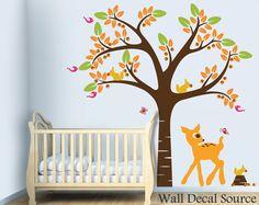 Nursery Wall Decal Vinyl Wall Art Baby Room Decal. $86.00, via Etsy.