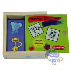 memória de animais e filhotes, memória de animais e filhoste carimbras, brinquedos educativos, brinquedos de madeira, brinquedos didáticos, jogos didáticos