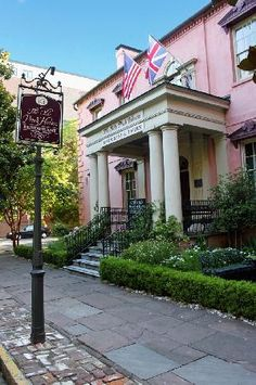 The Olde Pink House in Savannah, Georgia, for Nancy .Built  in 1789 by James Habersham Jr, one of Savannah's most important early cotton factors