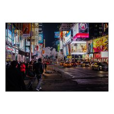 Gallery Direct New Era Photography 'Neon Nightlife' Mounted