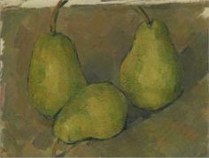 Three Pears - Paul Cézanne