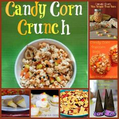 Candy Corn Recipe Round-Up #CandyCorn #Fall #FallRecipes