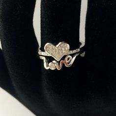 Love is in the air Silver Jewelry, Silver Rings, Heart Ring, Silver Jewellery, Heart Rings