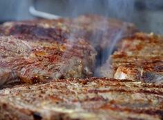 BROILED RIBEYE STEAKS WITH GARLIC HERB BUTTER -- BONNIE'S Recipe