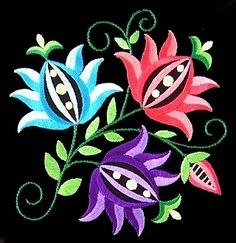 polish7 - Floral Embroidery Design