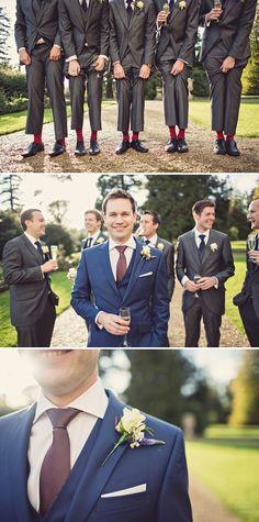 dapper groom buttonhole http://www.annaclarkephotography.com/