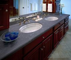 Corian Deep Sea, another new color for 2013.  I love the movement in this color!