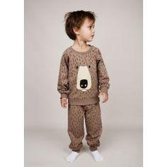 Mini Rodini Bear Sweatshirt // poppyscloset.com