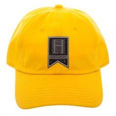 7da644798c35e Harry Potter Hufflepuff Woven Label Cap