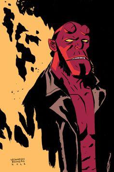 Hellboy - Leonardo Romero