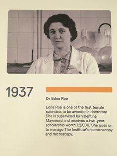 ICR history: Dr Edna Roe