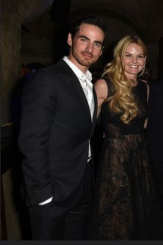 Jennifer Morrison and Colin O'Donoghue | OUAT S4 Premiere After Party