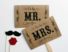 Wedding Photo Prop Photo Booth Prop Mustache on by LittleRetreats, $15.00