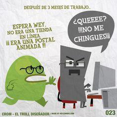Crom el Troll Diseñador 023