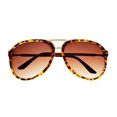 Retro Vintage Aviator Sunglasses Tortoise A942