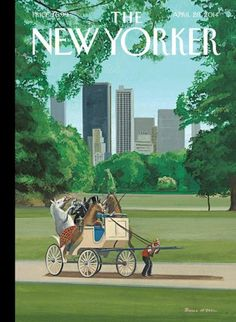 The New Yorker / artwork by Bruce McCall