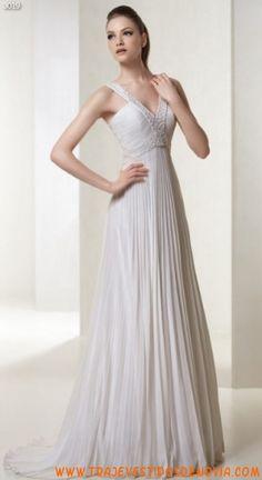 3019  Vestido de Novia  White One