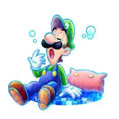 Luigi - Mario & Luigi: Dream Team Bros.