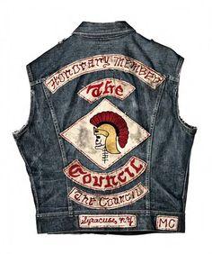 Vintage HELLS ANGELS waiscoat, period unknown  PunkPistol