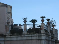 Terrace in Matera, Italy