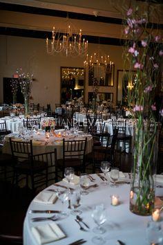 Wedding Centerpieces. Candlelit Dinner. Event Design. Floral Decor. Alden Castle. A LONGWOOD Venue. // Christian Pleva Photography. www.christianplevaimages.com