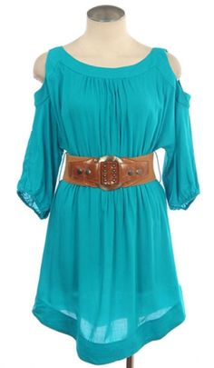 Love the color & the belt! :)