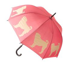 Pug Stick Umbrella: What could be cuter when it's raining cats and dogs?