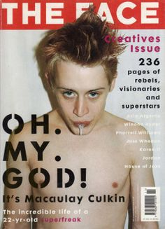 macaulay culkin home alone dylan mcdermott My Girl party monster Terry Richardson chloe sevigny seth green such a babe the good son Saved! richie rich Pagemaster uncle buck Face magazine SHLI QUASARQUEENS MACK ATTACK
