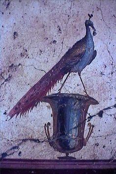 Torre Annunziata - Oplonti's archaeological excavation - fresco via Wikimedia Commons