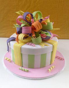 Lisa's present cake | Flickr - Photo Sharing!