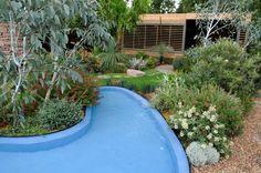 Australian Garden presented by Royal Botanic Gardens Melbourne RHS Chelsea Flower Show 2011 Gold Medal Design by Jim Fogarty Pic Jay Watson