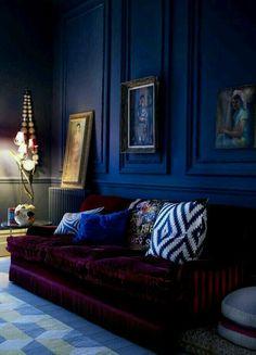 Walls Small space #goth #rockandroll  #lymedisease anti anxiety colors
