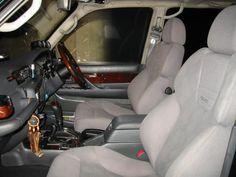 Toyota Land Cruiser 80 Series Recaro Seats