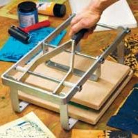 """""""Hand Lever Block Printing Press I MUST get one of these !!!"""" Looks interesting, with plate area 300 x 210mm. S"""