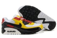 http://www.airgriffeymax.com/nike-air-max-90-multicolor-id-pack-white-black-yellow-red-p-301.html Only$71.00 #NIKE AIR MAX 90 MULTICOLOR ID PACK WHITE BLACK YELLOW RED #Free #Shipping!