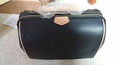 Authentic Louis Vuitton Epi Noir Doc Speedy N…