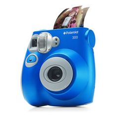 300 Instant Camera  Instant Gratification  Polaroid is back and cuter than ever, reminding everybody that a photo in hand is worth two on the screen. As if this camera weren't fun enough, the pictures come out the size of business cards.
