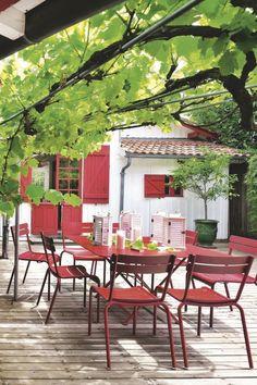 Maison de pêcheur rénovée pour vacances en famille au Cap Ferret - Côté Maison Outdoor Lounge, Outdoor Living, Outdoor Decor, Garden Living, Home And Garden, Garden Furniture, Outdoor Furniture Sets, Moroccan Garden, Surf House