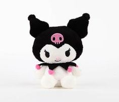 "Kuromi 5"" Mascot Plush: Friendly"