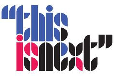 For 1968: Second Wave Typeface