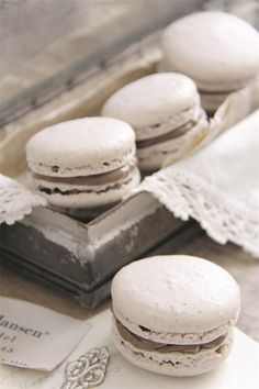 Recipes for Macarons with Cocoa and Macarons with Orange in this issue! Jeanne d'Arc Living Magazine 4th Issue April by DwellAntiques