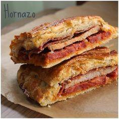 MI ADORABLE COCINA: HORNAZO DE SALAMANCA Typical Spanish Food, Tacos And Burritos, C'est Bon, International Recipes, Pain, Tapas, Food To Make, Sandwiches, Food And Drink