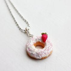 Doughnut necklace