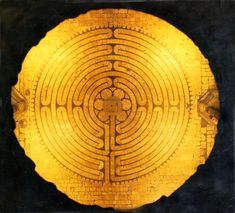 The 11-ring labyrinth at Chartres