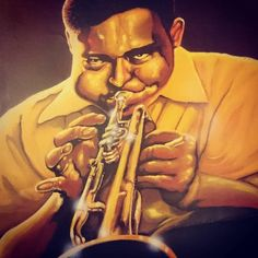 In the words of Louis Balfour of Jazz Club fame 'Nice'.One of my Jazz paintings before I started on my Aviator spheniscidae collection. Jazz Painting, Jazz Club, Posts, Fictional Characters, Art, Art Background, Messages, Kunst, Performing Arts